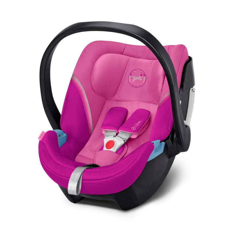 Βρεφικό Κάθισμα Αυτοκινήτου Cybex Aton 5 0-13kg Magnolia Pink