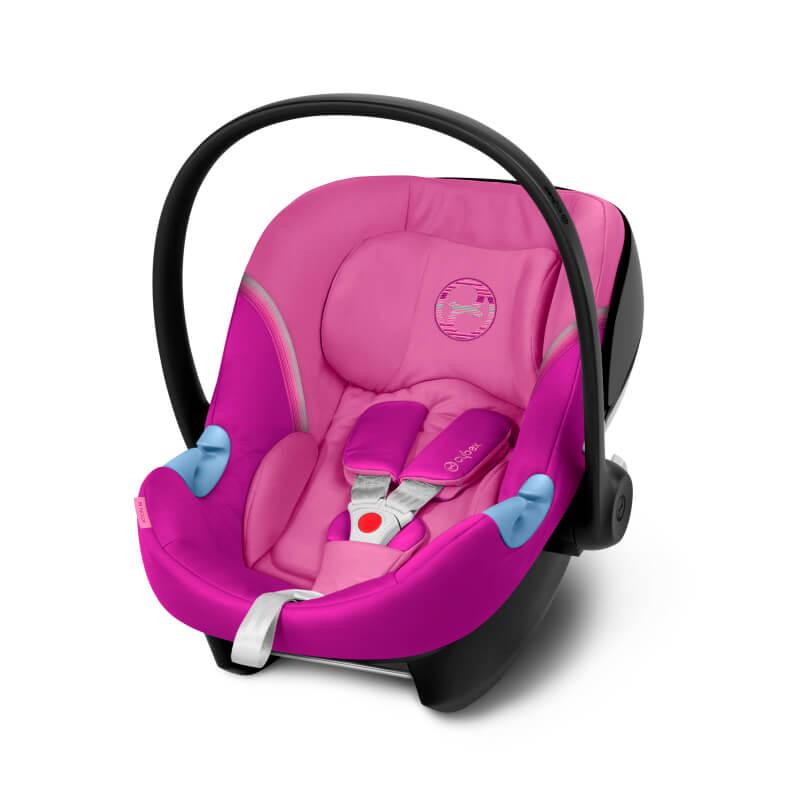 Βρεφικό Κάθισμα Αυτοκινήτου Cybex Aton M 0-13kg Magnolia Pink