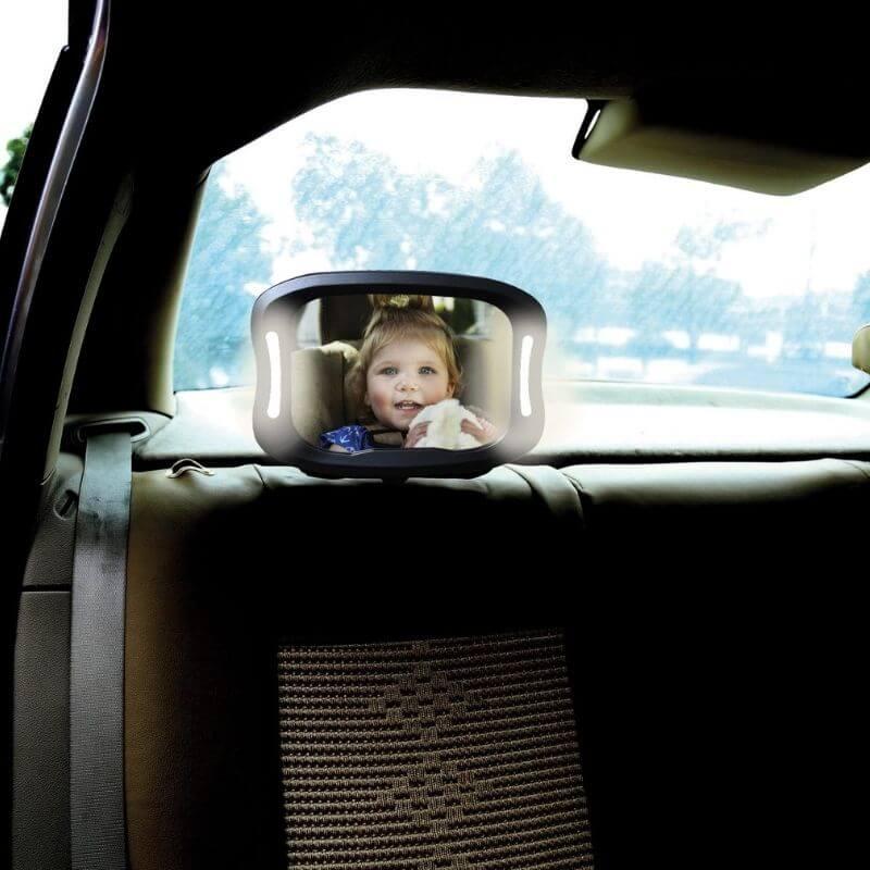 Αμβλυγώνιος καθρέπτης Free On με Led Light και τηλεχειριστήριο