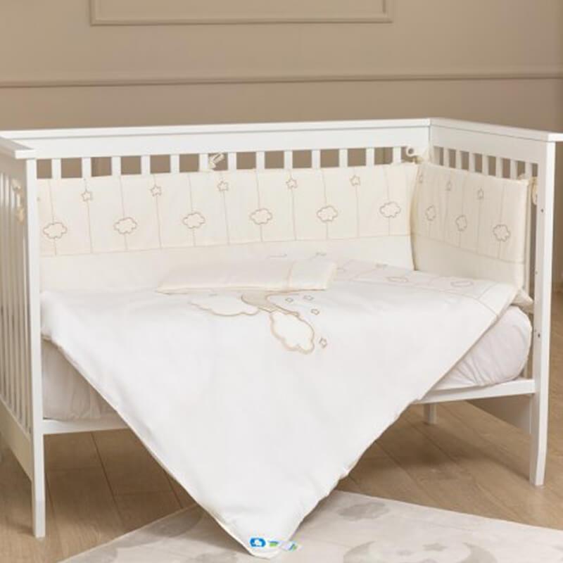 Σετ Προίκας Funna Baby Κούνιας 3τεμ. 192x40cm Luna Elegant