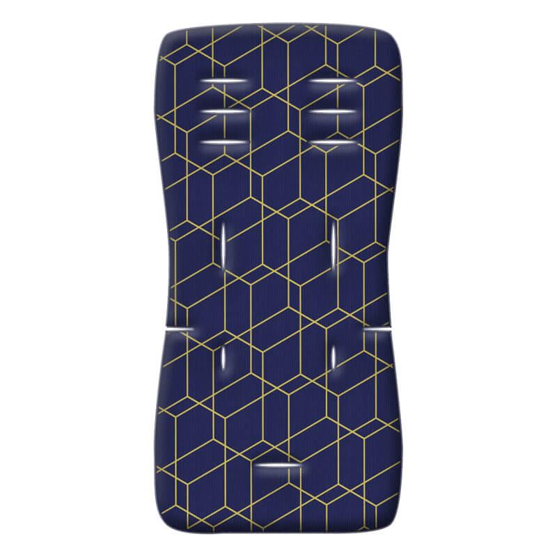 Στρώμα Καροτσιού Greco Strom 3D FIBER Μπλε