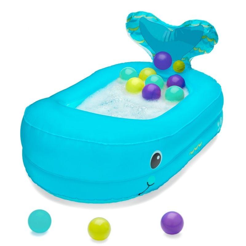 Παιχνίδι Μπάνιου Infantino Whale Bubble Ball Bath Tub
