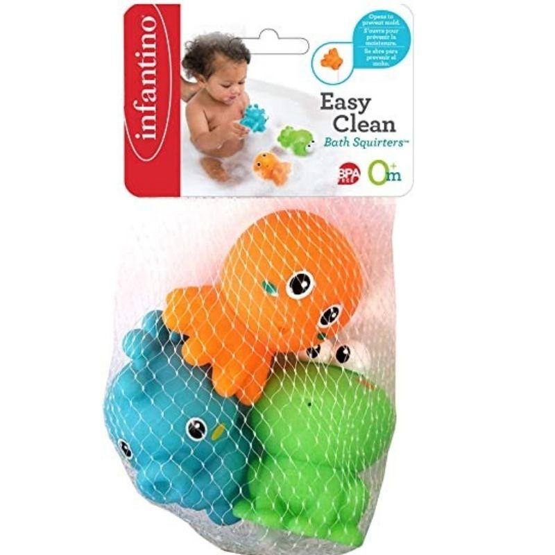 Παιχνίδι Μπάνιου Infantino Easy Clean Bath Squirters