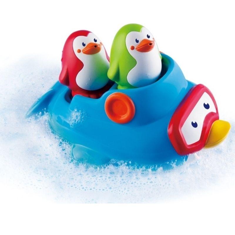 Παιχνίδι Μπάνιου Infantino Squirt'N Sail Penguin