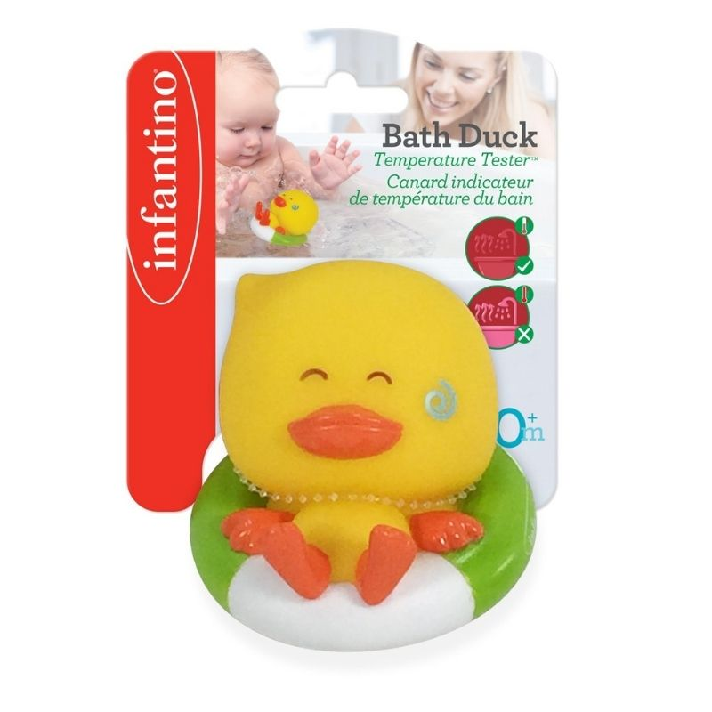 Θερμόμετρο Μπάνιου Infantino Bath Duck Temperature Tester