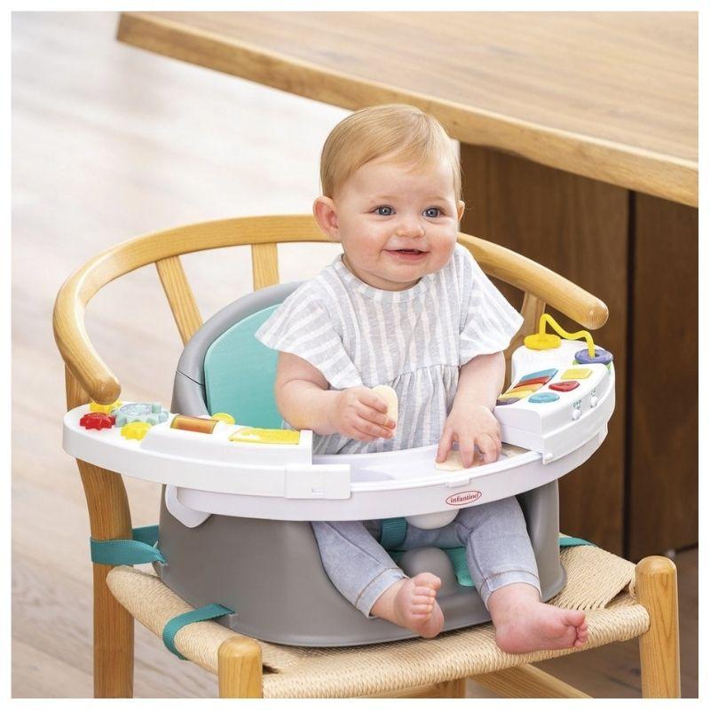 Κάθισμα Φαγητού Infantino Music & Lights 3 in 1 Discovery Seat & Booster