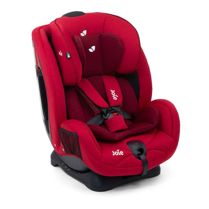 Βρεφικό-Παιδικό κάθισμα αυτοκινήτου Joie Stages 0-25kg Cherry ( Δώρο Αμβλυγώνιος Καθρέπτης )