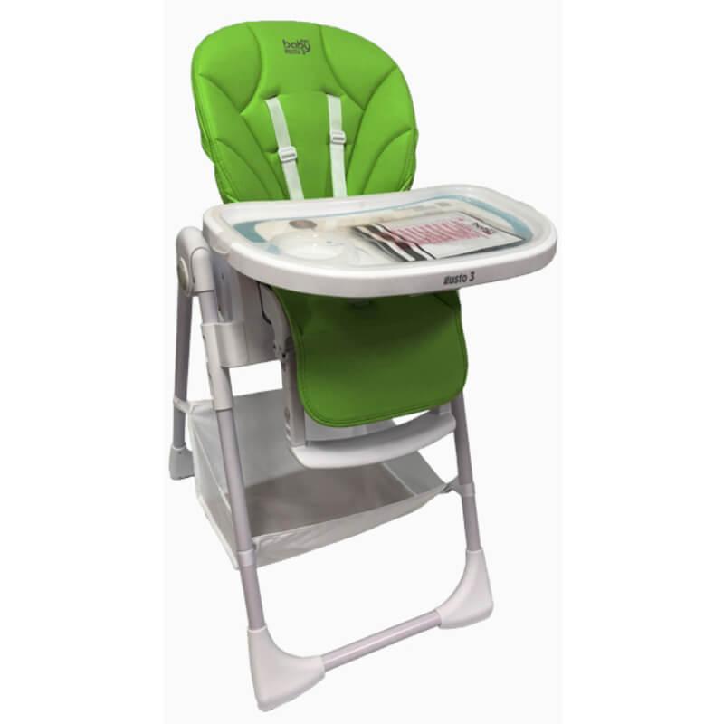 Κάθισμα Φαγητού Just Baby Gusto Green