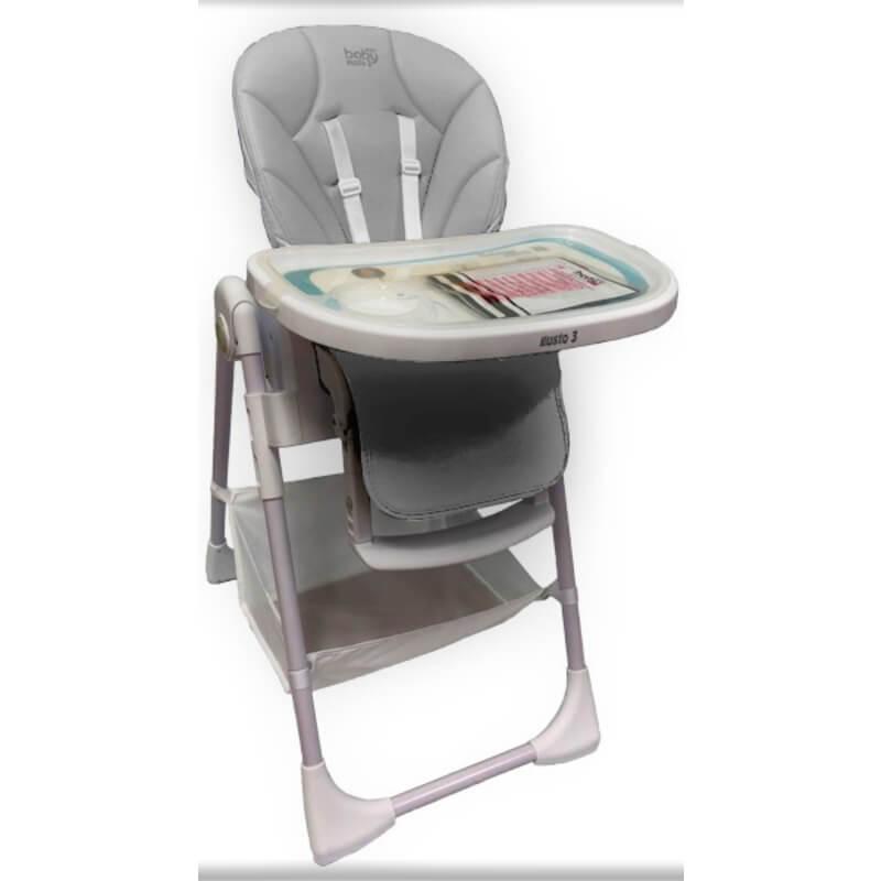 Κάθισμα Φαγητού Just Baby Gusto Grey