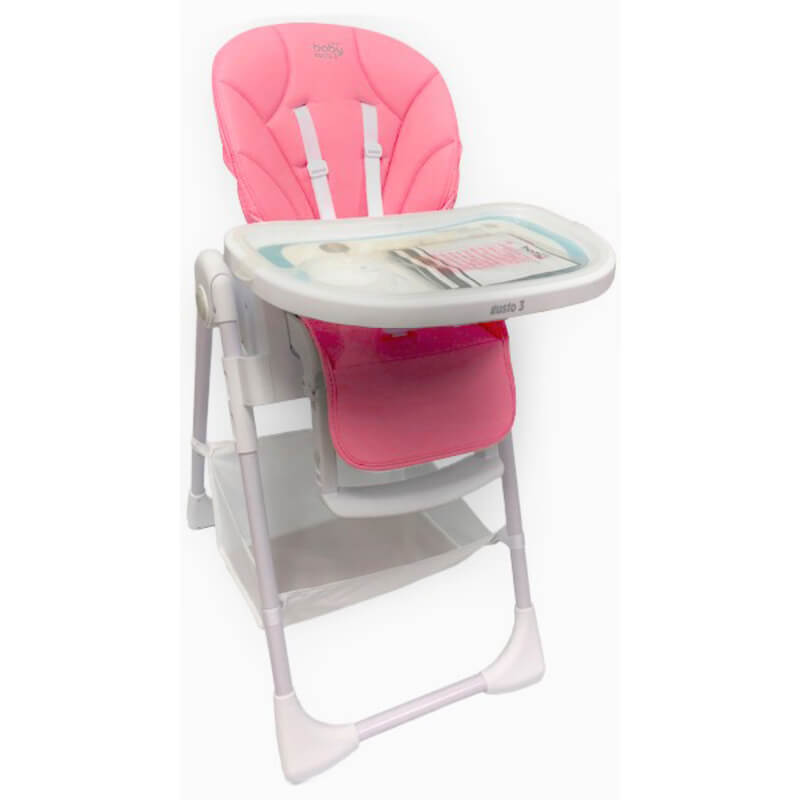 Κάθισμα Φαγητού Just Baby Gusto Pink