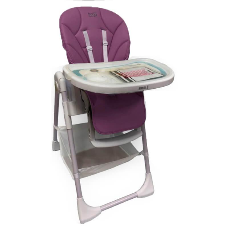 Κάθισμα Φαγητού Just Baby Gusto Purple