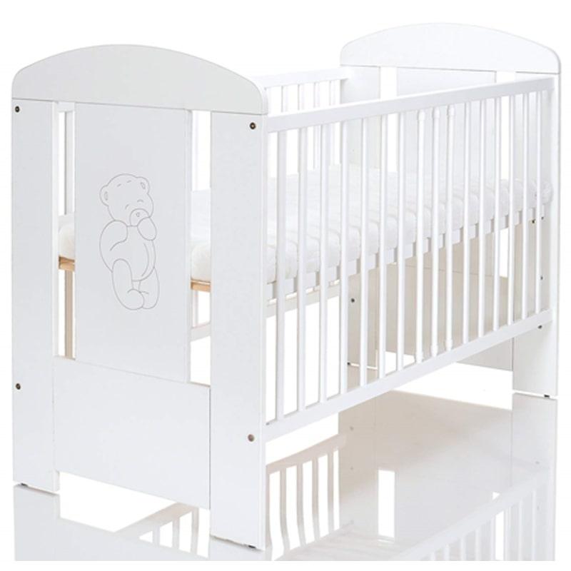 Βρεφικό Κρεβάτι Just Baby Lucky White