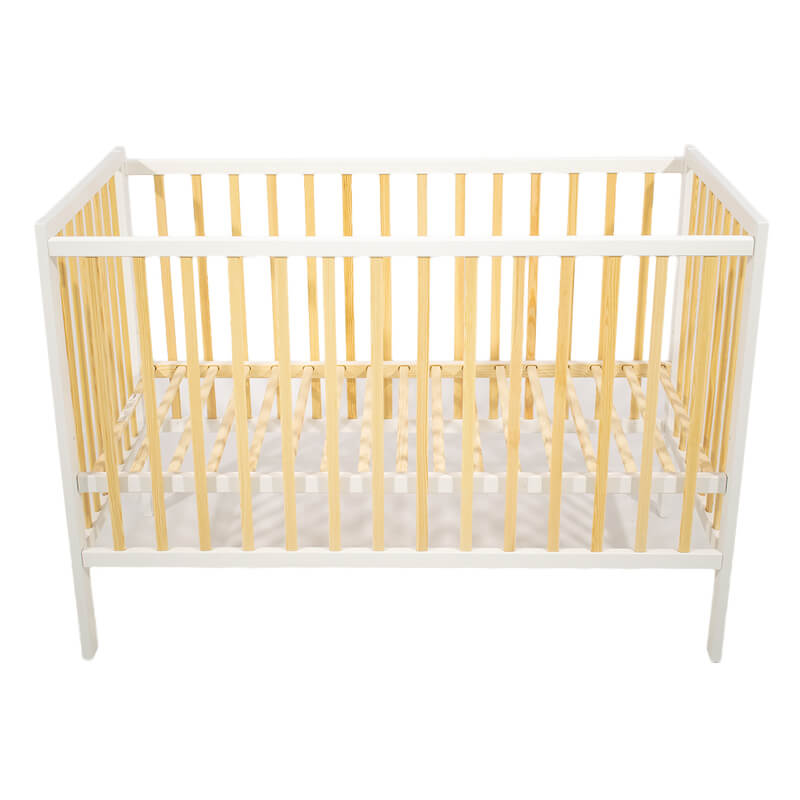 Βρεφικό Κρεβάτι Just Baby Basic White Natural
