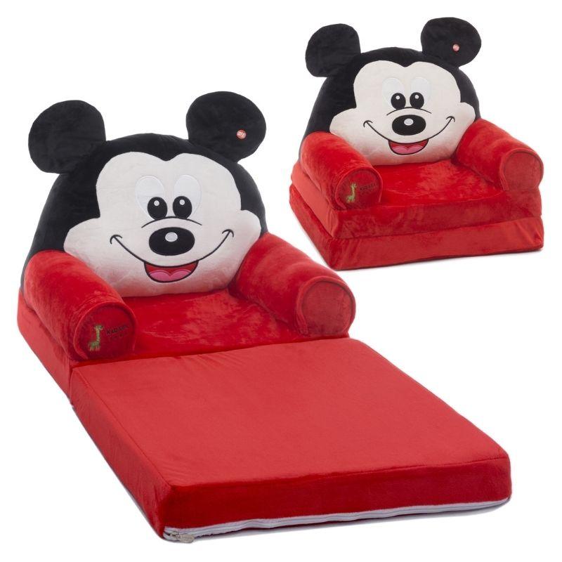 Παιδικό Πολυθρονάκι Kidsee 2 in 1 Mickey