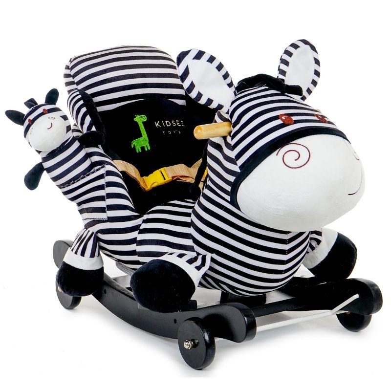 Κουνιστό Ζωάκι Kidsee Zebra