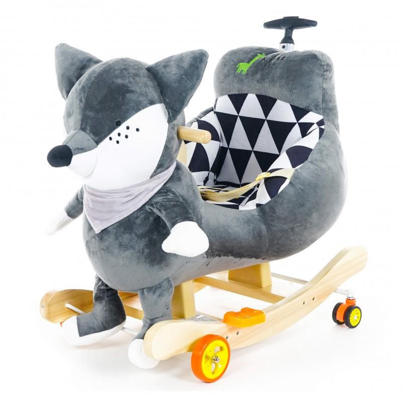 Κουνιστό Ζωάκι Με Λαβή Kidsee Fox