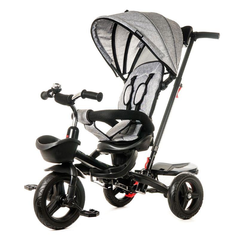 Τρίκυκλο Ποδήλατο Kidsee 7 in 1 Grey Black