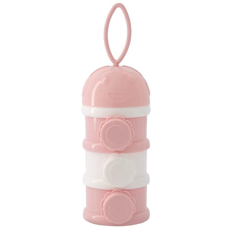 Δοσομετρητής Σκόνης Γάλακτος 3 επιπέδων Kikka boo Pink