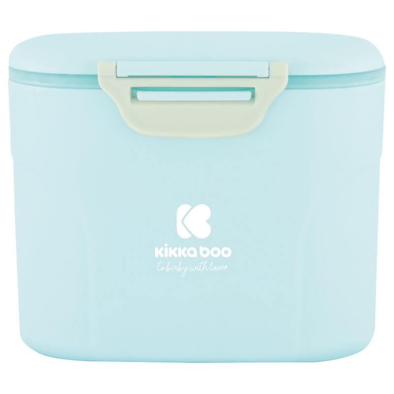 Δοσομετρητής Σκόνης Γάλακτος Kikka boo με κουταλάκι Blue 160gr
