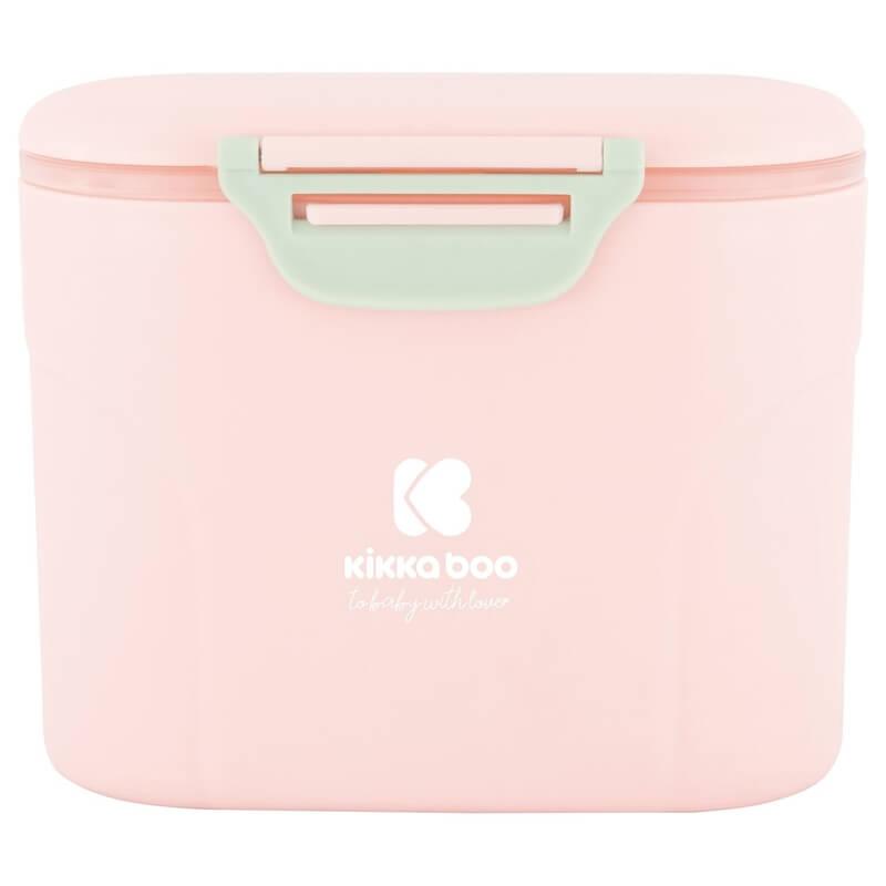 Δοσομετρητής Σκόνης Γάλακτος Kikka boo με κουταλάκι Pink 160gr