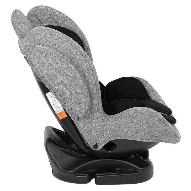 Κάθισμα Αυτοκινήτου Kikka boo Bon Voyage 0-25kg Dark Grey