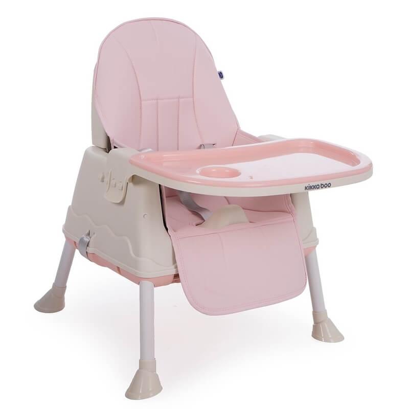 Κάθισμα Φαγητού Kikka boo Creamy 2 in 1 Pink