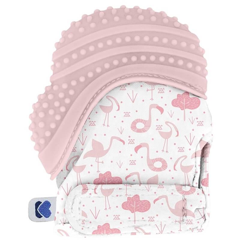Γάντι Οδοντοφυΐας 0+ μηνών Kikka boo Flamingo Pink