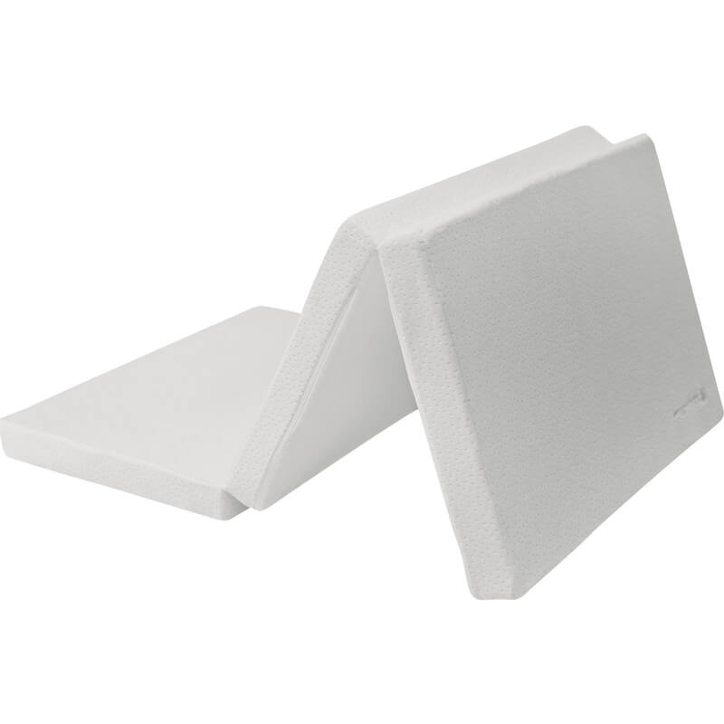 Αναδιπλούμενο Στρώμα Παρκοκρέβατου Kikka boo Velvet Grey (60x120x5cm)