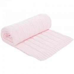 Κουβέρτα Αγκαλιάς Πλέκτη Kikka boo Light Pink