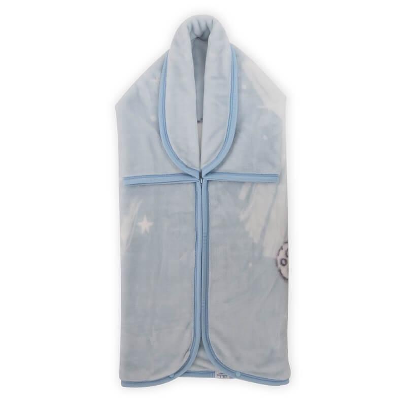Κουβέρτα Αγκαλιάς - Υπνόσακος Kikka boo Polar Bear Blue