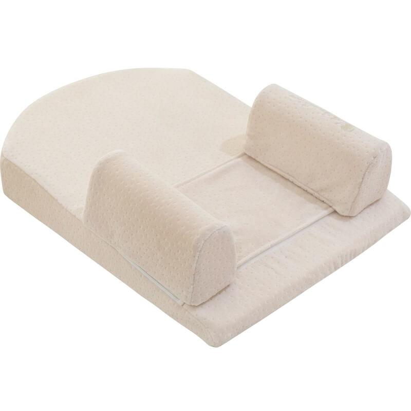Μαξιλάρι Ύπνου - Υπνοσφηνάκι Kikka boo Memory Foam Beige Velvet