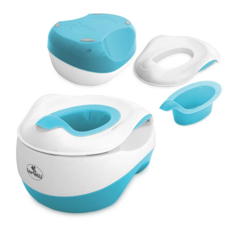 Γιο Γιο - Κάθισμα Τουαλέτας - Σκαλοπάτι Μπάνιου Lorelli WC Transform 3 in 1 Light Blue