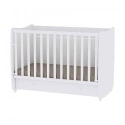 Βρεφικό κρεβάτι Lorelli Dream 60x120 μετατρεπόμενο White