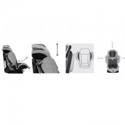 Κάθισμα αυτοκινήτου Lorelli Magic+Sps  9-36kg Grey