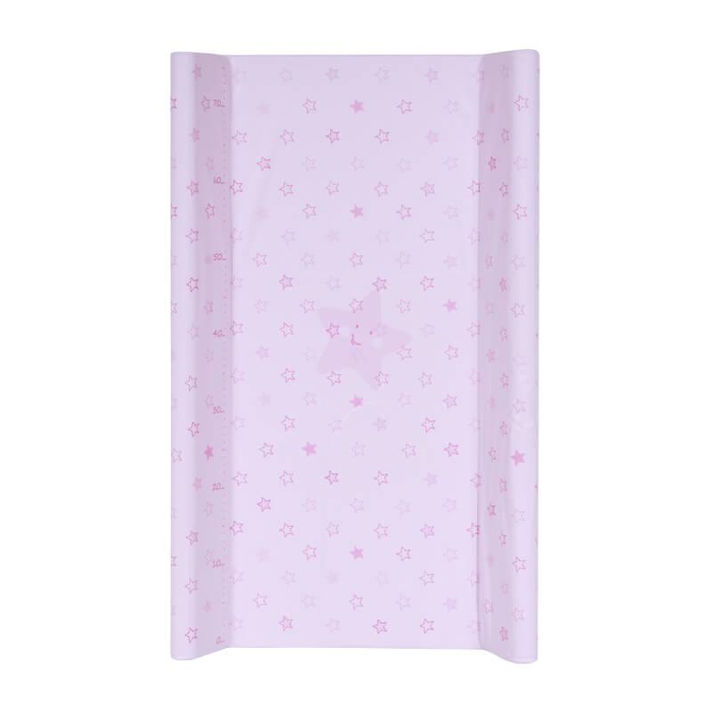 Αλλαξιέρα Σκληρή Lorelli 50x70 cm Pink Stars