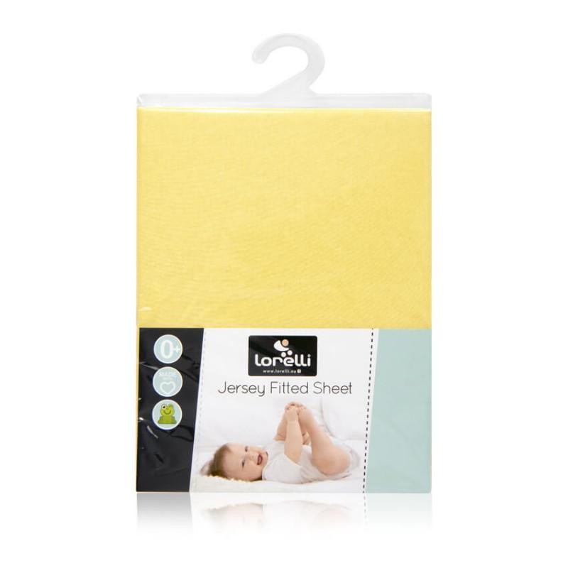 Σελτές Κρεβατιού Lorelli Jersey (120x60cm) Yellow