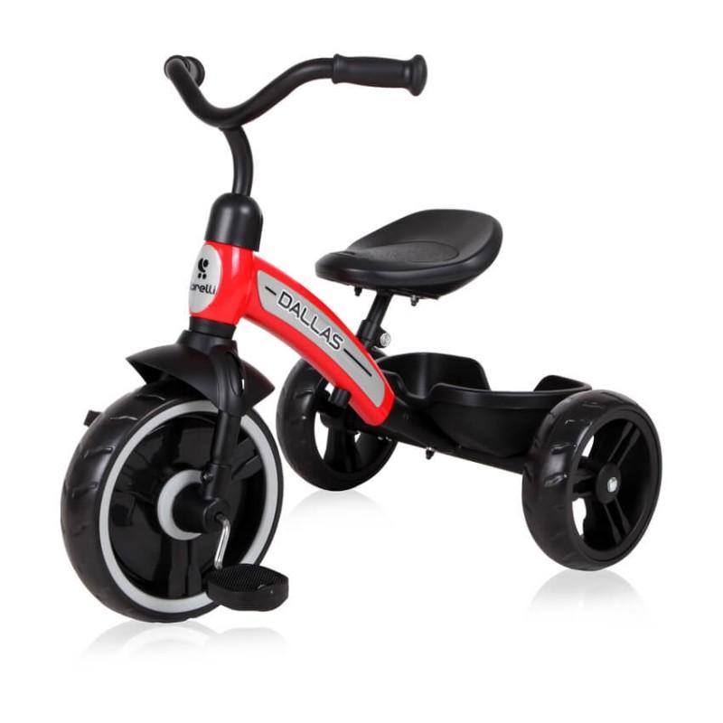 Τρίκυκλο Ποδήλατο Lorelli  Dallas Red