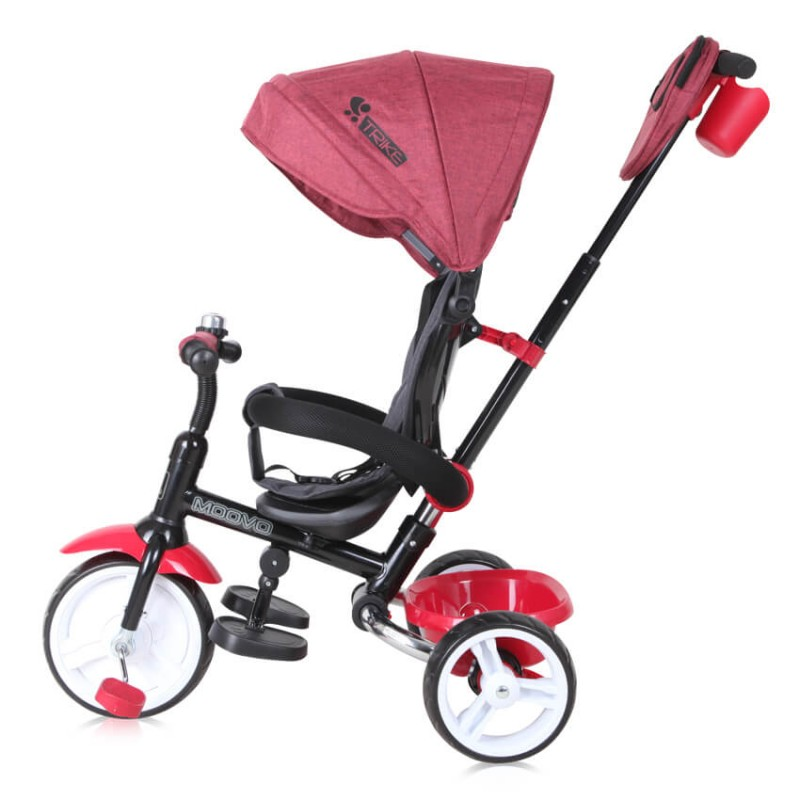 Τρίκυκλο Ποδήλατο Lorelli Moovo EVA Dark Red