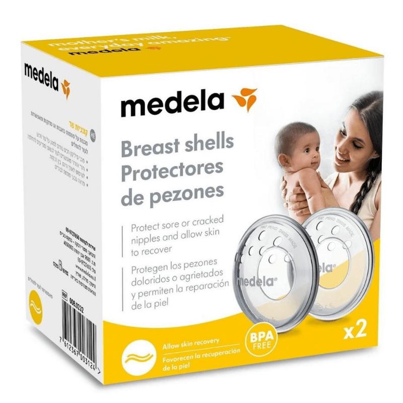 Προστατευτικά Θηλών BreastShells Medela 2τμχ