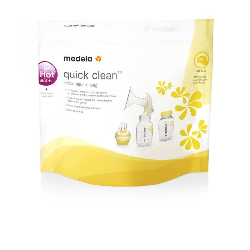 Σακουλάκια Αποστείρωσης για Μικροκύματα Medela Quick Clean™ 5τμχ