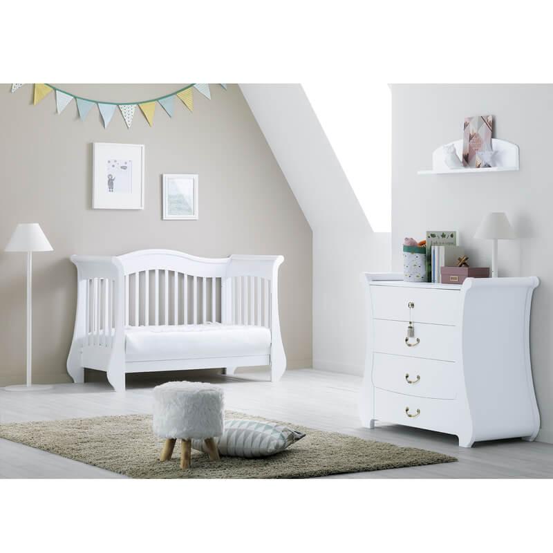 Βρεφικό κρεβάτι - καναπές PALI Tulip Baby White