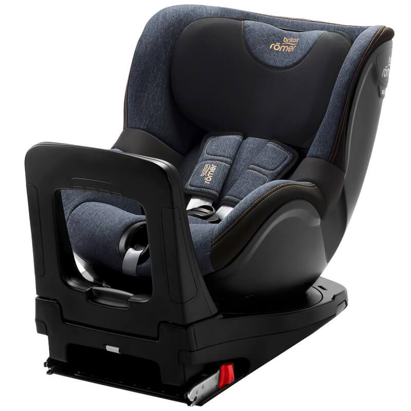 Κάθισμα Αυτοκινήτου Britax Romer Dualfix i-Size 40-105cm Blue Marble