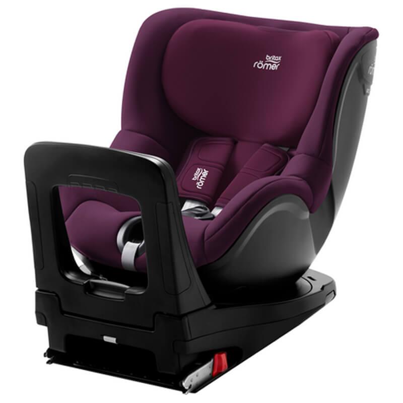 Κάθισμα Αυτοκινήτου Britax Romer Dualfix i-Size 40-105cm Burgundy Red