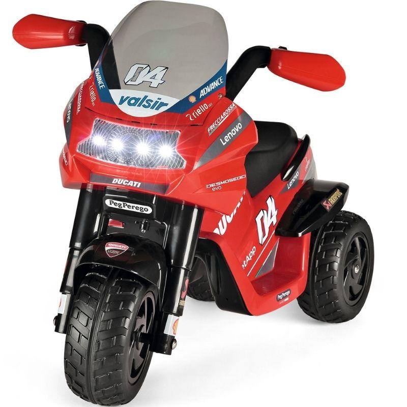 Ηλεκτροκίνητη Μηχανή Peg Perego 6V  Desmosedici Evo