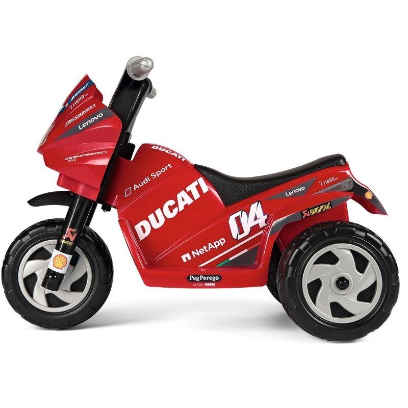 Ηλεκτροκίνητη Μηχανή Peg Perego Ducati Mini 6V Evo