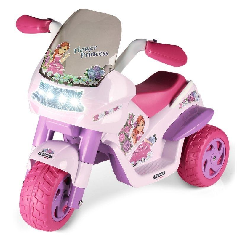 Ηλεκτροκίνητη Μηχανή Peg Perego 6V Flower Princess