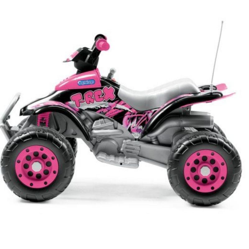 Ηλεκτροκίνητη Γουρούνα Peg Perego Coral T-Rex Pink