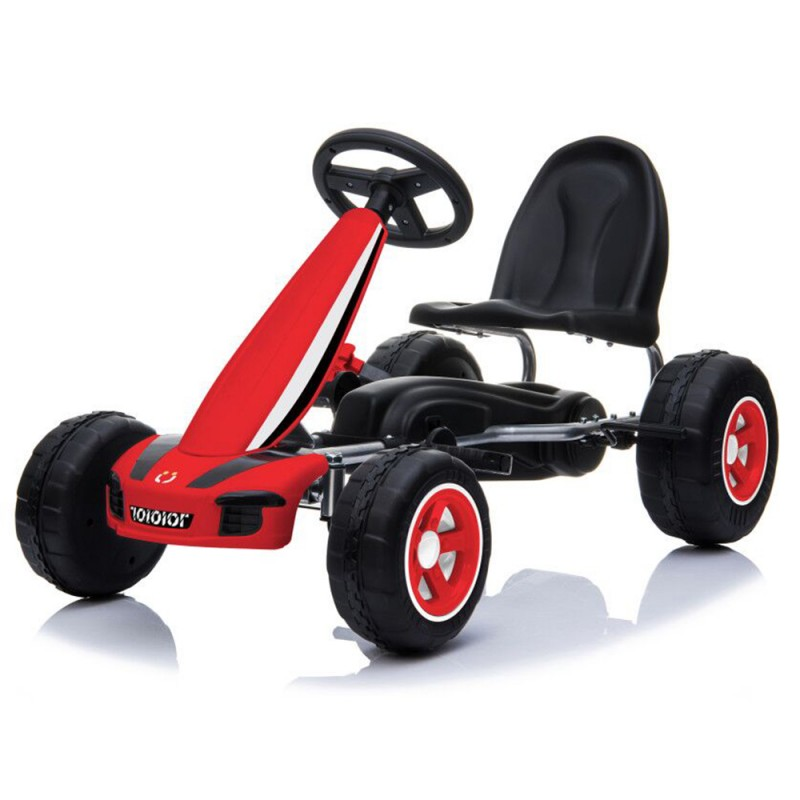 Παιδικό αυτοκινητάκι Moni με πεντάλ Go Cart Fever B005 Red