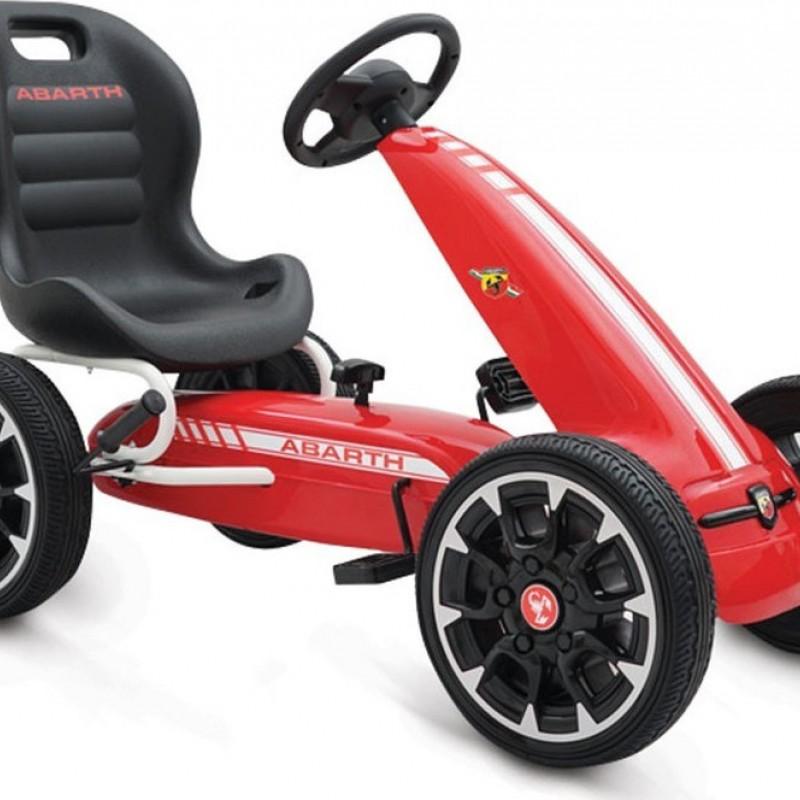 Παιδικό αυτοκινητάκι Go-cart Abarth 500 Assetto Red
