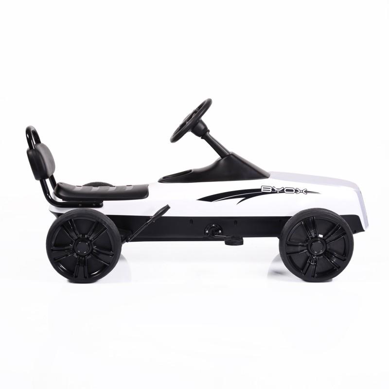 Παιδικό αυτοκινητάκι Byox με πεντάλ Karting Happy Baby K01 White